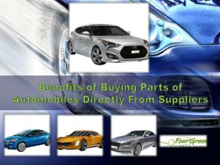 Advantages of Purchasing Kia's Auto Parts in the USA  Directly From Suppliers