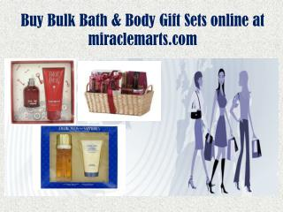 Buy Bulk Bath & Body Gift Sets online at miraclemarts.com