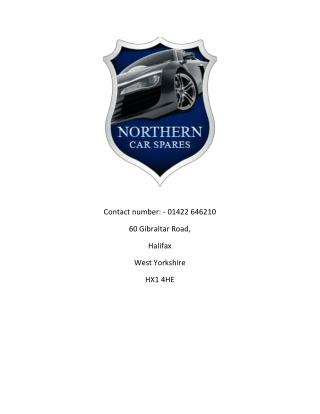 Northern Car Spares - Buy Car Bumpers, Headlights, Bonnet, Headlamps for BMW, Audi