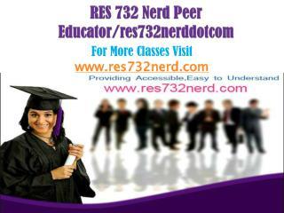 RES 732 Nerd Peer Educator/res732nerddotcom
