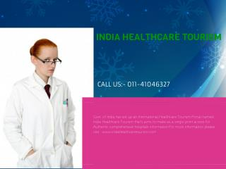 India's Healthcare Tourism Portal
