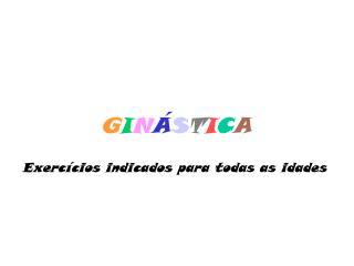 GIN STICA