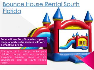 Bounce House Pompano Beach