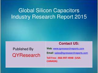 Global Silicon Capacitors Market 2015 Industry Analysis, Development, Outlook, Growth, Insights, Overview and Forecasts