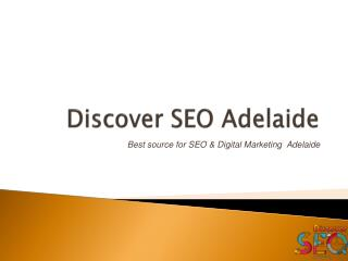 Digital Marketing Agency - Discover SEO Adelaide