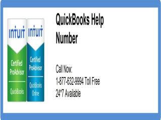 Call QuickBooks Helpline Number @#1-877-632-9994 @#Tollfree for @#Quickbooks Help