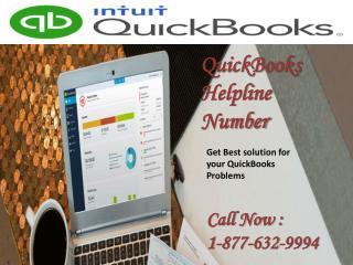 QuickBooks Helpline Number @# 1-877-632-9994 @# Tollfree for Quickbooks Help