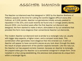 Asscher cut diamonds houston