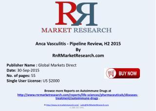 Anca Vasculitis Pipeline Review H2 2015