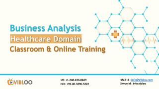Business Analysis Healthcare Online & Classroom Training