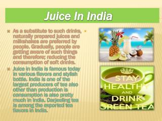 Juice in India
