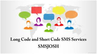 Short Code and Long Code SMS Services Provider in Hyderabad