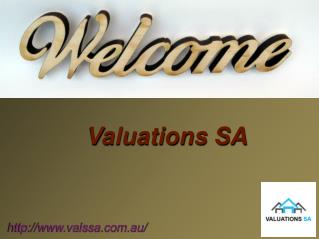 Unit Entitlement Service with Valuation SA In Adelaide