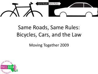 Same Roads