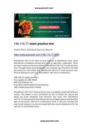 CheckPoint 156-215.77 exam practice test