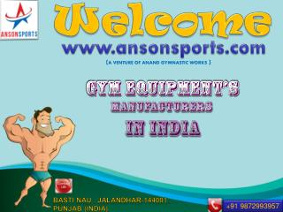 Home fitness equipments in india