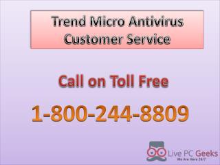 Trend Micro Antivirus Customer Service