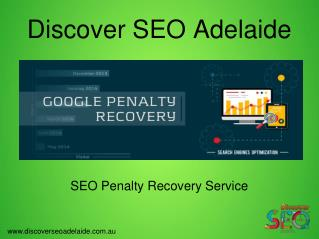 Get Best Google Penalty Recovery Service at Discover SEO Adelaide