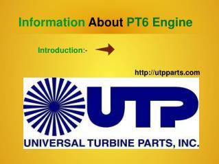 Latest Pt-6 Engine and Pw100 Engine