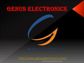 Led TV manufacturers: Genus Electronics
