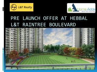Pre Launch Offer at Hebbal