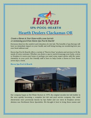 Hearth Dealers Clackamas OR
