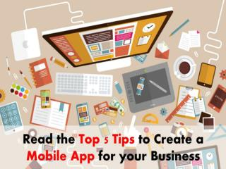 Top 5 Strategies in Mobile App Development for Business