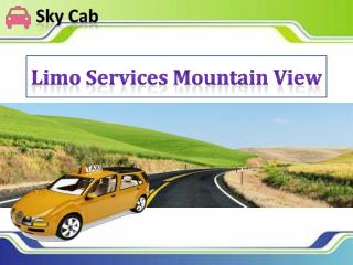 Limo Services Mountain View