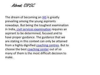 best coaching Upsc in delhi