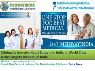 Best hospitals for Heart Surgery in india