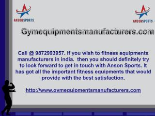 Get to buy online fitness equipments manufacturers in india