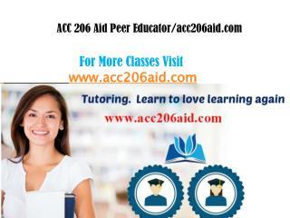 ACC 206 Aid peer Educator/acc206aid.com