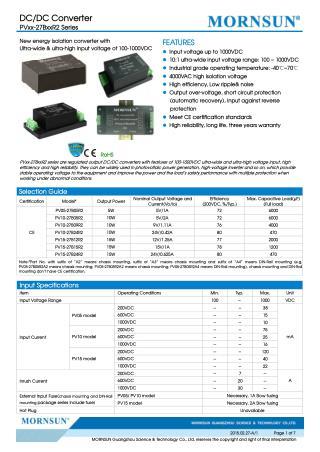 AC/DC Converter LI120 Series