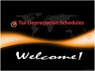 E Tax Depreciation Schedules For Depreciation