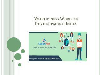 wordpress Website Development India