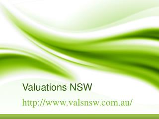Valuations NSW: Ready For Your Pre-Sale/Pre-Purchase Valuations