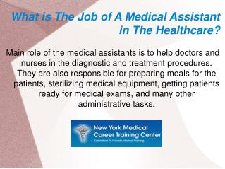 Medical Assistants- A Rewarding Career in the Healthcare Industry!