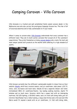 Camping caravan _custom_made_caravan