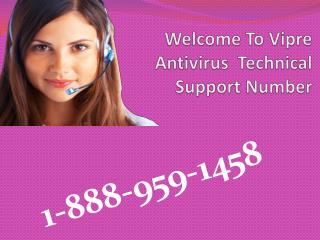 Vipre Contact Support 18889591458