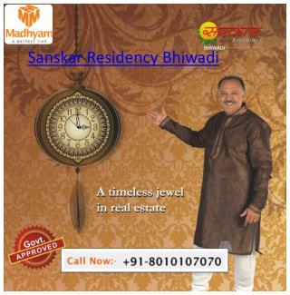 MGI Sanskar Residency Bhiwadi