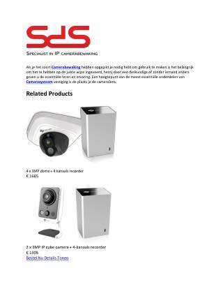 Krijg Camerasysteem en zich veilig voelen Your Life