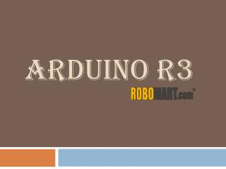 Buy arduino R3 by Robomart