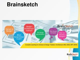 NIFT, NID, CEED, NATA Coaching Classes- Brainsketch