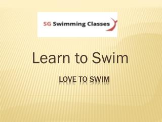 Learn Swimming-Bedok Swimming Complex