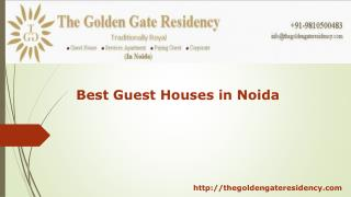 Best Guest Houses in Noida