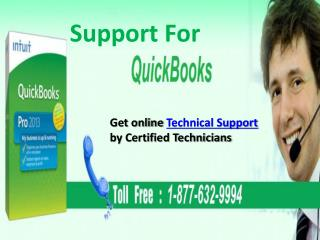 Call QuickBooks Support Number 1-877-632-9994 tollfree for Instant support