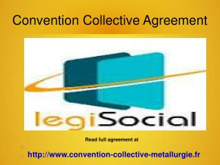 Convention Collective Metallurgie PDF