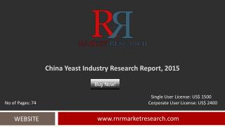 China Yeast Industry Research & Analysis Report 2015