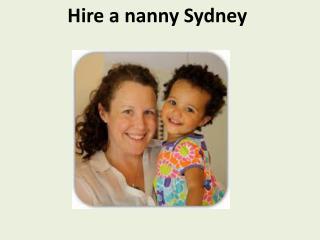 Hire a nanny Sydney Nanny Share