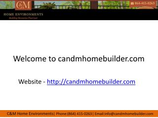 Greenville home builder